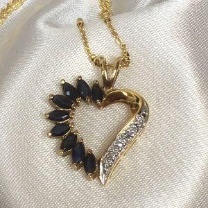 Jewelry - 💙Genuine Sapphire Pendant💙